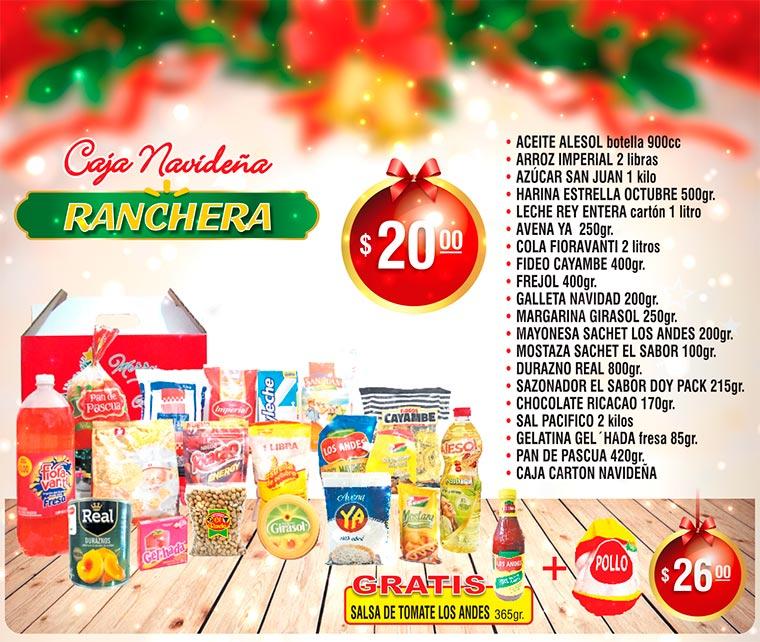 Canatas Navideña Ranchera